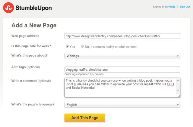 Add-a-Page-to-StumbleUpon