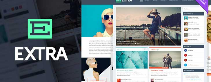 Extra - Drag N Drop WordPress Theme powered by Divi