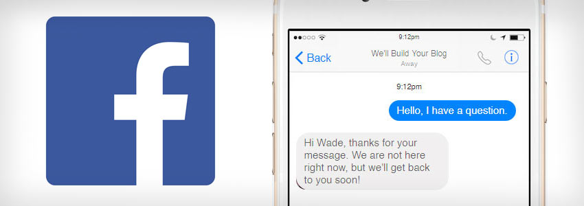 How to setup an Auto-Responder for your Facebook Page Messenger