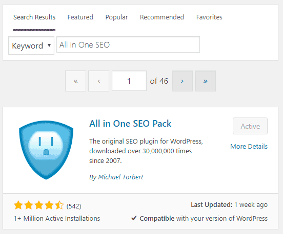 best settings for all in one seo for more google traffic